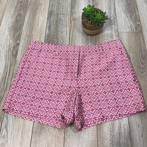 LOFT Pants - LOFT Pink Pattern Shorts Beautiful Design