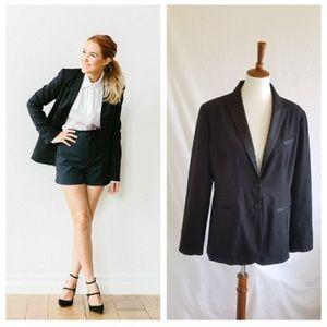 LC Lauren Conrad Black Suit Blazer