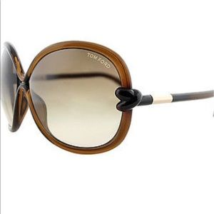 Tom Ford Accessories - Authentic Tom Ford Sonja brown sunglasses