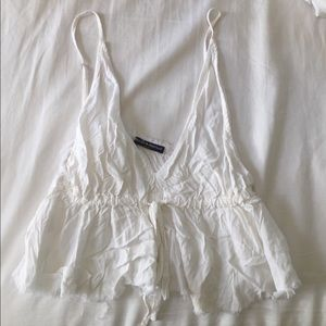 Brandy Melville Tops - FLOWY CROP