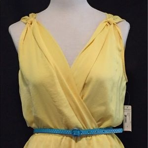 Bisou Bisou Dresses & Skirts - NWT Canary Yellow Dress by Bisou Bisou