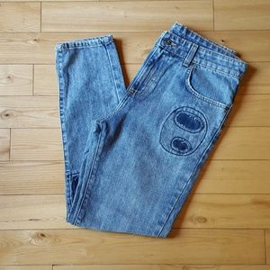 Carmar Denim - NWT Carmar Relaxed Patched Jeans  Sz 28