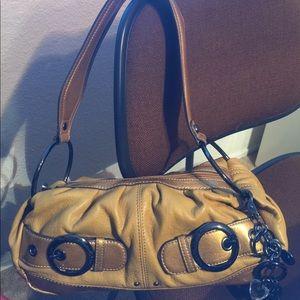 Kathy Van Zeeland Handbags - KATHY VAN ZEELAND SHOULDER BAG - NWOT - Mustard