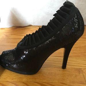 Nina Shoes - Nina sequin booties