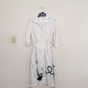 J. Crew Dresses & Skirts - J.Crew Cotton Nautical Dress