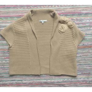 CABi Rosette Sweater Shrug