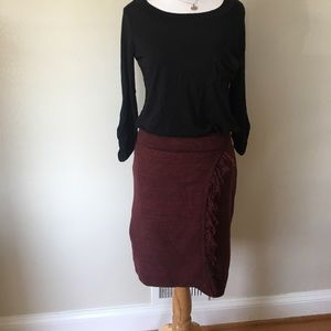Anthropologie Maeve knit skirt size small EUC