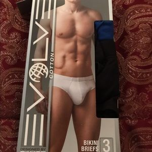 2xist Other - Men's Evolve by 2xist Bikini Briefs Underwear 2 pk
