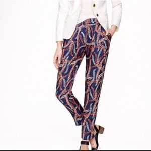 J.Crew Collection Silk Ankle Pant