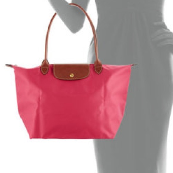 Longchamp Handbags - Peony Longchamp Le Pliage Large Tote 020857acb2f6d