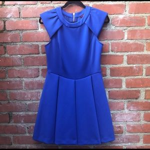 Ted Baker fit & flare dress. Size 3.
