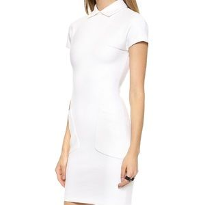 DSQUARED Dresses & Skirts - Dsquared2 Wool Dress Ivory size Medium NEW