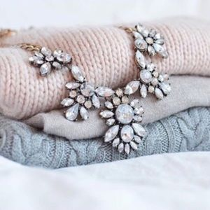 Boutique Jewelry - Crystal Statement Necklace
