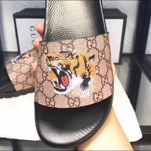 Gucci Other - Gucci Tiger Flip Flops