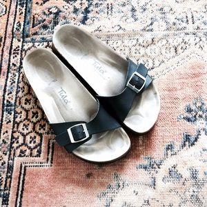 "Birkenstock Shoes - 🆕 Listing! Leather one strap ""Tula"" Birkenstocks"