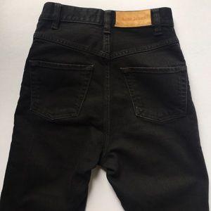 Acne Denim - Acne Black Skinny Jeans