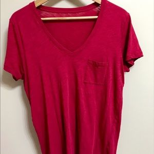 MADEWELL whisper cotton pocket tee