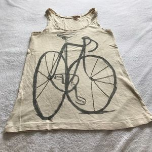 J.Crew bicycle tank top.