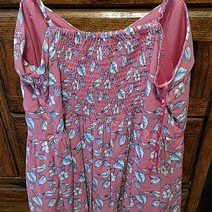 Lauren Conrad Dresses - Pink lauren conrad bird Dress