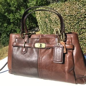 Coach Chelsea Jayden Brown Satchel 17811