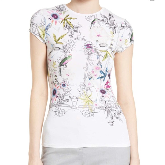 5d1c0133e Ted Baker Hazelto Passion Flower tee FLASH SALE