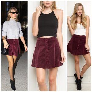 Brandy Melville Dresses & Skirts - Brandy Melville Corduroy Skirt