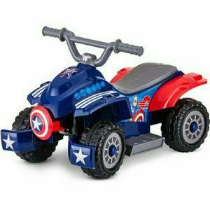 Other - 6v Marvel Captain America Toddler Quad