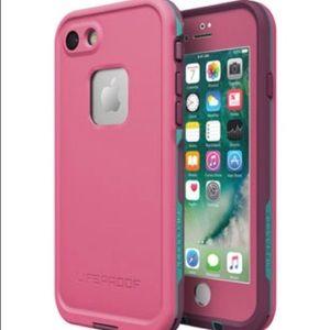 LifeProof Accessories - iPhone 7 Pink LifeProof Frē Case