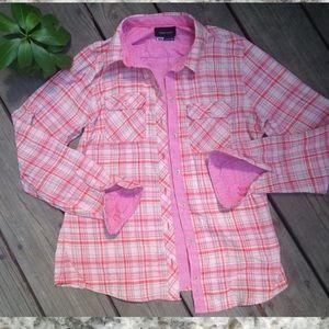 Marmot Tops - Marmot Plaid Button Up Blouse