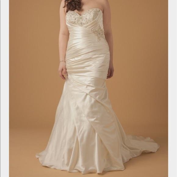 78c58da8319d Dina Davos for Kleinfeld Dresses | Sweetheart Beaded Mermaid Bridal ...