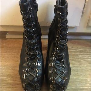 Tripp nyc Shoes - Tripp NYC boots, criss cross design, womens, sz 7