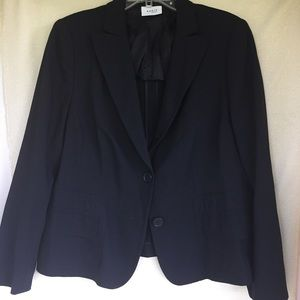 Akris Punto Jackets & Blazers - Akris Punto Classic 2 Button Black Blazer