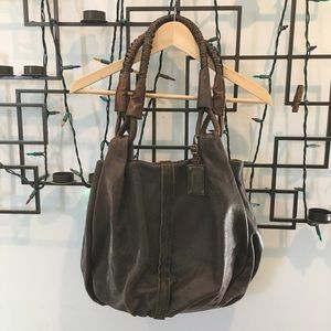 BOSS ORANGE Handbags - BOSS Orange brown leather hobo bag