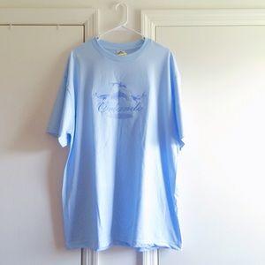 Vintage Tops - Orlando Florida Dolphin Blue Tee