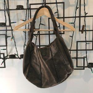 BOSS ORANGE Handbags - BOSS Orange brown suede hobo bag