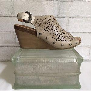 PIKOLINOS Shoes - Pikolinos Benissa Laser Cut Wedge Sandal