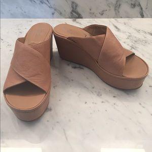 Belle by Sigerson Morrison Shoes - Belle by Sigerson Morrison Deka Platform Wedges