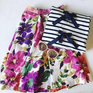 {anthropologie} 🌿 floral spring baraschi skirt