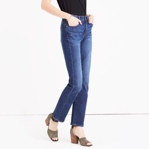 NWOT Madewell Cruiser Straight Jeans in Lana Wash