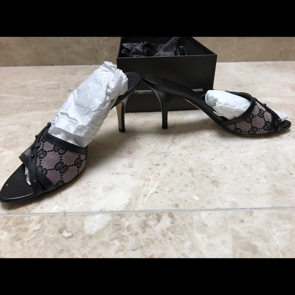 63% off Gucci Shoes - Gucci dusty rose/pink slides- size 8 ...