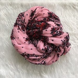 Madewell Accessories - Madewell Dot and Floral Scarf