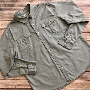 Converse Other - Converse - One Star-Long Sleeved Button Down (XL)