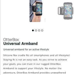 OtterBox Accessories - Otter box armband for active lifestyles