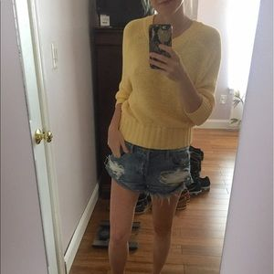 Gap sweater XS yellow