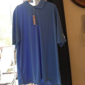 NWT Antigua men's golf shirt