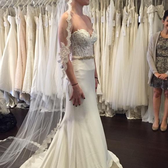 New Martina Liana Wedding Dress Nwt