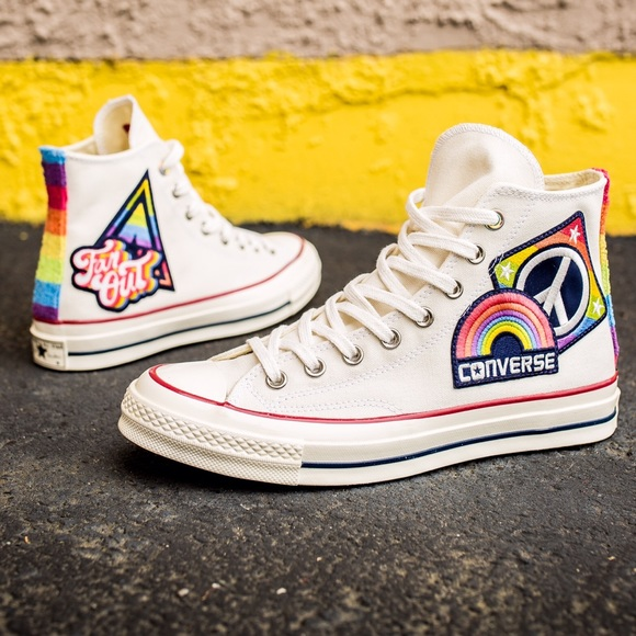 "e1d2ae1f56f1 Converse All-Star  70 Hi ""Pride"" shoes"