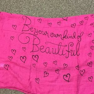 """""""Be your own kind of beautiful"""" Scarf"""