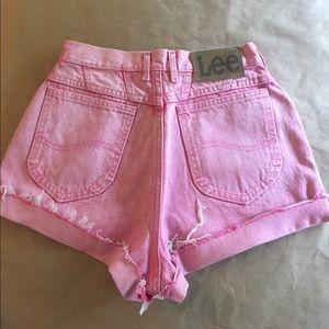 "Levi's Pants - 90's Super High Waist Cutoff Jean Shorts Waist 28"""
