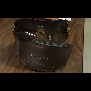 Gucci Large  sunglasses
